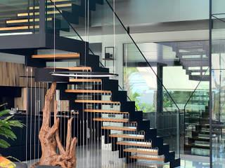 ARREL arquitectura Escaleras Metálico/Plateado