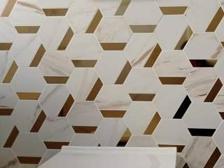 sala de banho Melissa vilar Casa de banhoSanitas Cerâmica Branco