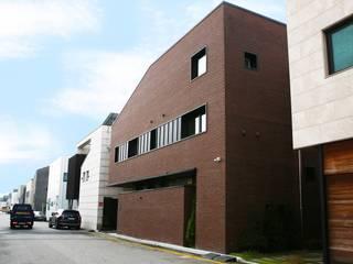 AAPA건축사사무소 Casas unifamiliares Ladrillos