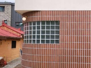 AAPA건축사사무소 Casas pequeñas Ladrillos