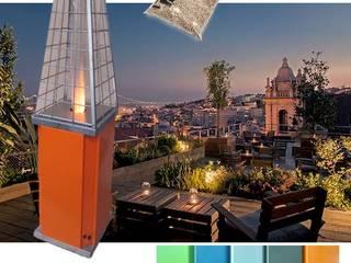 HERKELL JardínAccesorios y decoración Hierro/Acero Naranja