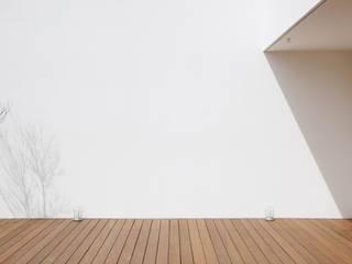 空間建築-傳 Balcony Дерево Дерев'яні