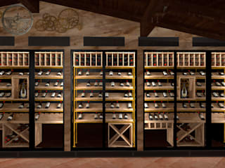 Volo Vinis Wine cellar Wood effect