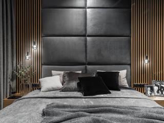 Anna Serafin Architektura Wnętrz Modern style bedroom