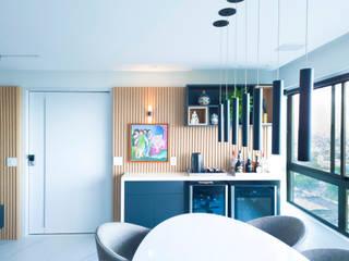 Arquitetura Sônia Beltrão & associados Balkon Marmer White