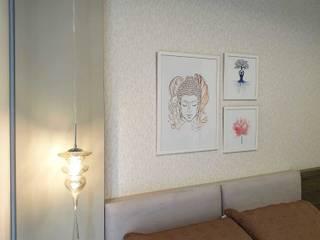 Larissa Minatti Interiores BedroomBeds & headboards