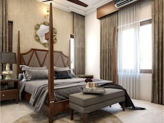 Here are the best Luxury interior design ideas... Monnaie Interiors Pvt Ltd BedroomAccessories & decoration Wood Wood effect