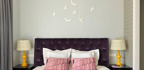 Квартира на ул.Балтийской / Москва: Спальни в . Автор – TS Design