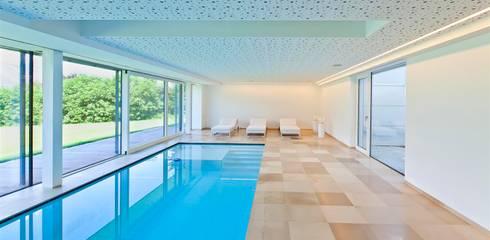 Villa Giulia, Lans - Innenraum:  Pool von OFA Architektur ZT GmbH