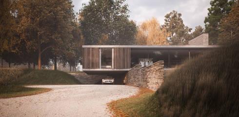 moderne Häuser von Strom Architects