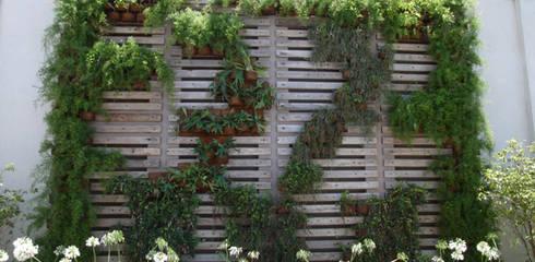 Garten von Denise Barretto Arquitetura