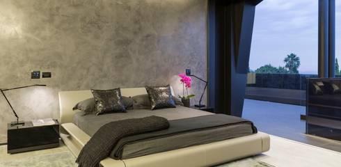 moderne Schlafzimmer von Nico Van Der Meulen Architects