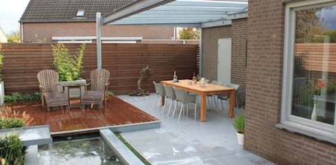 modern Garden by Hoveniersbedrijf Guy Wolfs
