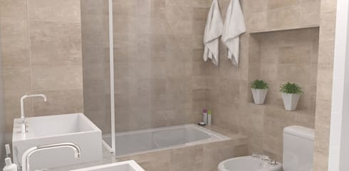 Bathroom by Bhavana
