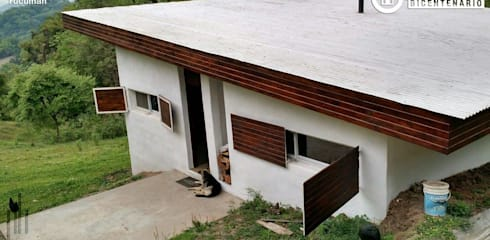 PH Arquitectos의  베란다