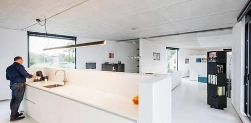 Architectenbureau Dirk Nijsten bvbaが手掛けたリビング