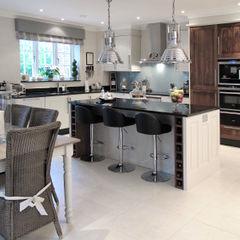 Kitchen In East Sussex Clifford Interiors CocinaFregaderos y grifería