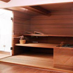 homify Saunas Acabado en madera