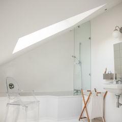 Une salle de bain ton sur ton mllm Salle de bain originale
