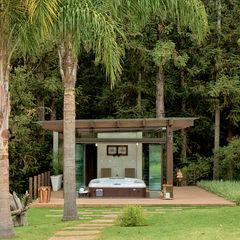 Spa da floresta Espaço do Traço arquitetura Spa rústico