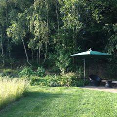small terrace Roeder Landscape Design Ltd Сад в стиле кантри