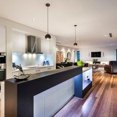 Floreat Residence Moda Interiors モダンな キッチン