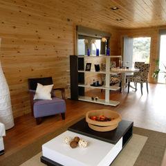 Casas Natura Гостиная в стиле модерн
