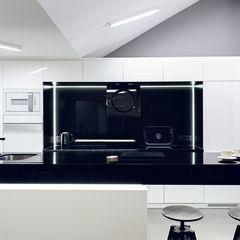 Apartament w Gdańsku 2012 formativ. indywidualne projekty wnętrz Industrialna kuchnia