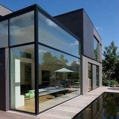 hasa architecten bvba Modern Houses