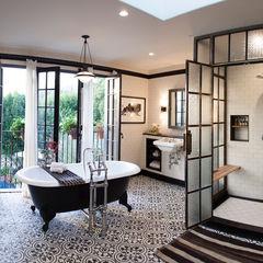 Drummonds Case Study: Loz Feliz Retreat, California Drummonds Bathrooms BanyoKüvet & Duşlar
