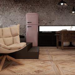 Shoreditch Project The Wood Galleries Paredes y suelos de estilo moderno