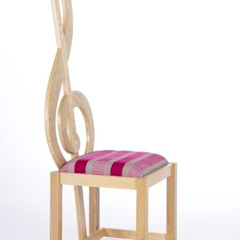 Treble Clef Chair Brocklehurst Furniture Медіа-залМеблі
