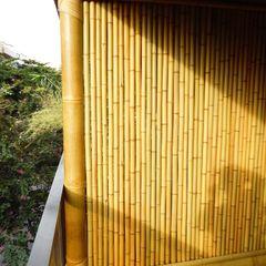 Bambu Rei Eco-Design Balcones y terrazas rústicos