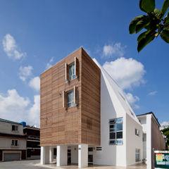 루버하우스 스마트건축사사무소 모던스타일 주택