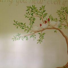 Handmade Wallpaper- Aesops Fables Eades Bespoke Classic style bedroom