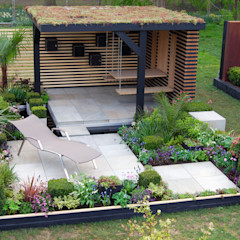 RHS Cardiff 2015 Best4hedging Jardines de estilo moderno
