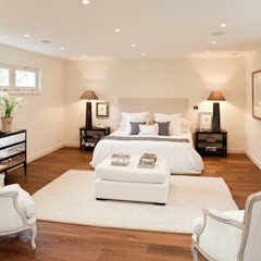 ELK Fertighaus GmbH Modern Yatak Odası
