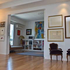 Piso en Palermo I GUTMAN+LEHRER ARQUITECTAS Paredes y pisos modernos