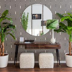 HALL Movelvivo Interiores Vestíbulos, pasillos y escalerasAccesorios y decoración Acabado en madera