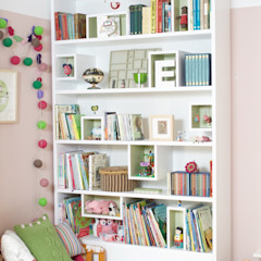 Bedroom Bookshelves buss Детская комнатаХранение