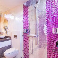 PORTO Arquitectura + Diseño de Interiores Baños de estilo ecléctico