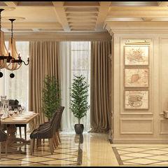Интерьер дома Rash_studio Гостиная в классическом стиле