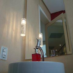 ProArq Brasil Nowoczesna łazienka Papier Czerwony
