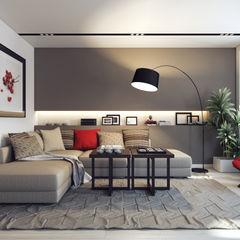 Design Studio Details Eklektik Oturma Odası