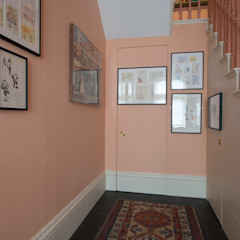 55 The Bomptons ATOM BUILD LTD Modern Corridor, Hallway and Staircase
