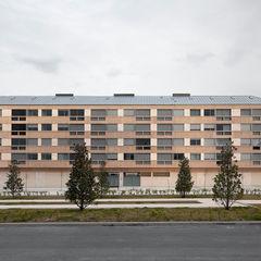 Edificio de Viviendas en Guindalera Ignacio Quemada Arquitectos Casas de estilo moderno