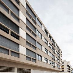 Edificio de Viviendas en Guindalera Ignacio Quemada Arquitectos Casas modernas