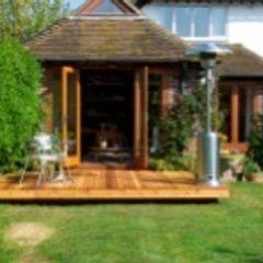 Orchard House Ivon Blumer Architects Jardines modernos