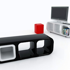ERACLE Paolo D'Ippolito - idee e design Living roomStorage