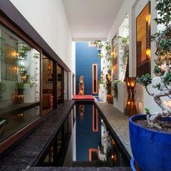 Pablo Cousinou Balcones y terrazas de estilo asiático
